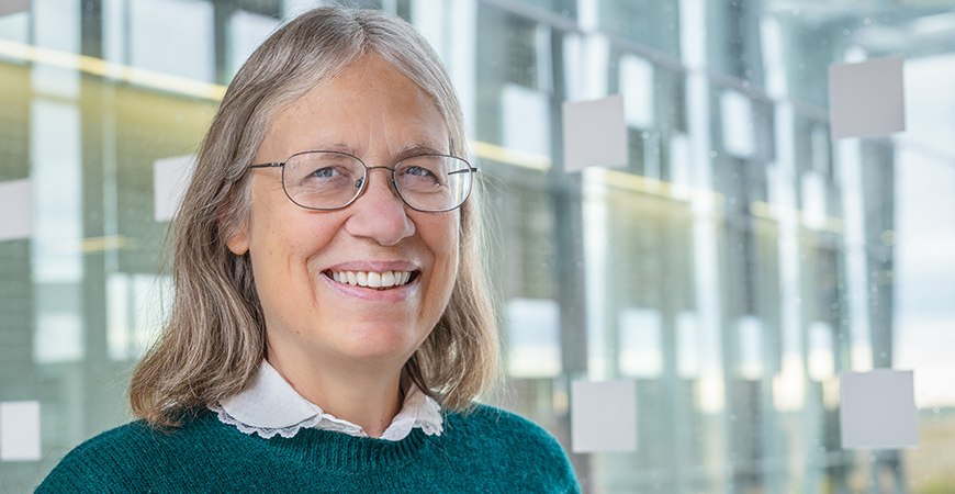 Professor Sarah Kurtz's research in comparing the efficiency of different solar-cell technologies when installed on car roofs could advance efforts to use solar panels on electric cars to recharge their batteries.
